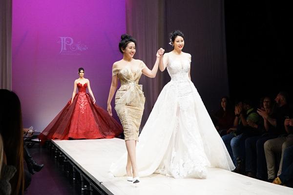 Hoa hậu Hà Kiều Anh 3 con vẫn làm vedette