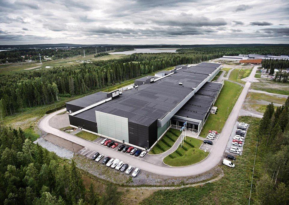 Facebook, trung tâm thông tin, Luleå, khu chứa máy chủ, bí ẩn