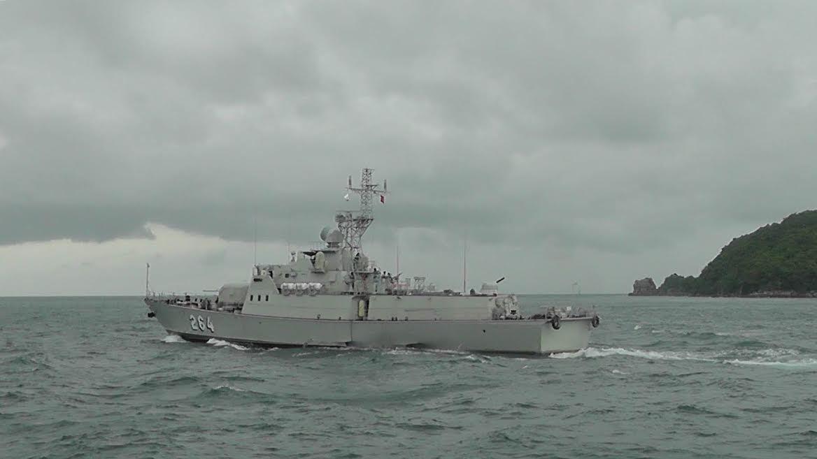 Hải quân, Hải quân Việt Nam, Hải quân bắn đạn thật
