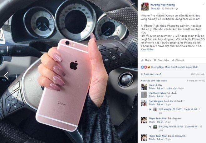 Ý kiến, mua iPhone 7, giá 30 triệu, tiếng Anh, kinh doanh, gửi tiền tiết kiệm, cô gái, gây tranh cãi, cộng đồng mạng