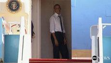 Obama giục Bill Clinton lên máy bay