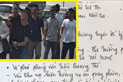 Công an Hà Nội sẽ họp báo thông tin vụ 'gạt tay vào má'
