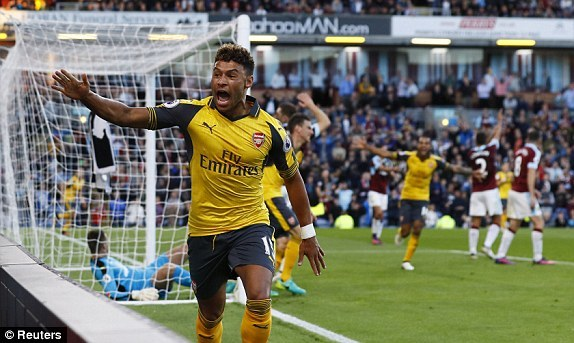 Video bàn thắng Burnley 0-1 Arsenal