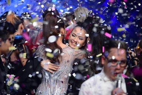 Ngọc Châu đánh bại hotgirl 1m54 đăng quang Next Top Model