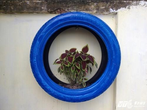 vườn hoa, biến bãi rác thành vườn hoa, phố Phó Đức Chính