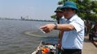 Chủ tịch Hà Nội trực chiến xử lý vụ cá chết Hồ Tây