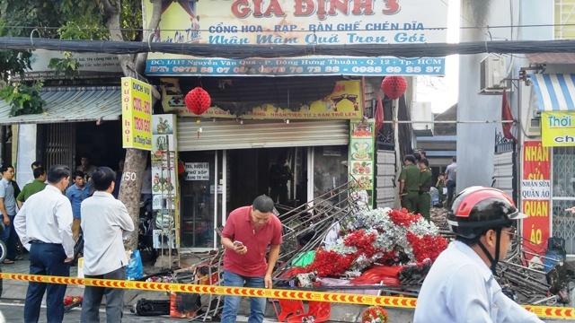 TP.HCM: Cháy nhà trong đêm, cả gia đình chết thảm