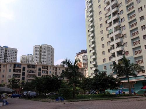 chung cư thành văn phòng cho thuê, chung cư Trung Hòa-Nhân Chính, thuê chung cư làm văn phòng