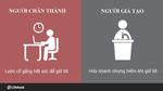 8 khác biệt giữa kẻ giả tạo và người chân thành