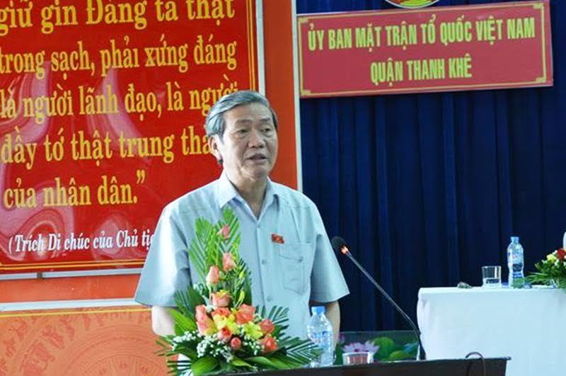 Thường trực Ban Bí thư Đinh Thế Huynh, Đà Nẵng, Nguyễn Bá Thanh, anh hùng lao động