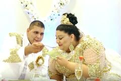 Đám cưới xa hoa nhất hành tinh khiến dân mạng phát sốt