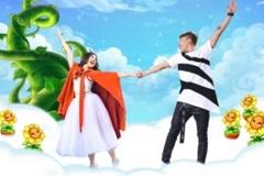 """Trấn Thành bị Mr.T đá xoáy trong """"Mơ Trên Mây"""""""