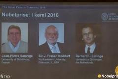 Ba nhà khoa học nhận Nobel Hóa học 2016