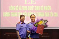 Thư ký ông Bá Thanh làm Chánh thanh tra Viện kiểm sát NDTC