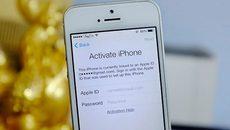 """iPhone bất ngờ bị khóa thành """"cục gạch"""" vì lỗi Activation lock"""