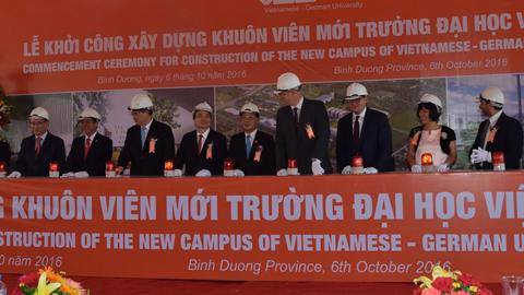 Khởi công xây dựng Trường ĐH Việt Đức