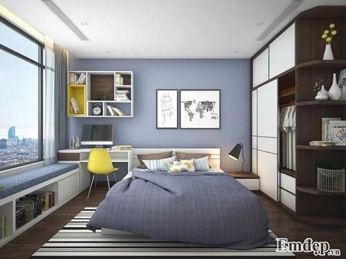 nhà đẹp, thiết kế căn hộ, trang trí căn hộ, căn hộ của chàng trai độc thân
