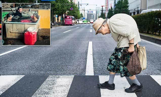 Cuộc sống bận rộn của người cao tuổi Nhật