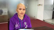 Ba con nhỏ nguy cơ mồ côi mẹ vì bệnh ung thư quái ác