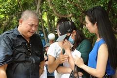 Minh Anh khóc khi được giải oan ở lễ giỗ Lê Công Tuấn Anh