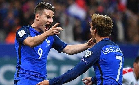 clip bàn thắng Pháp 4-1 Bulgaria