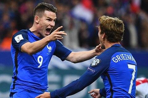 Video bàn thắng Pháp 4-1 Bulgaria
