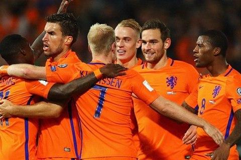 Video bàn thắng Hà Lan 4-1 Belarus