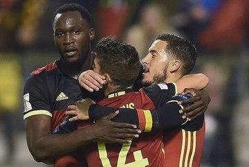 """Hazard và Lukaku lập công, Bỉ """"nghiền nát"""" Bosnia"""