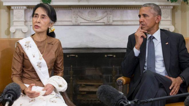 Myanmar, cấm vận thương mại, Obama, Mỹ, xóa bỏ lệnh trừng phạt