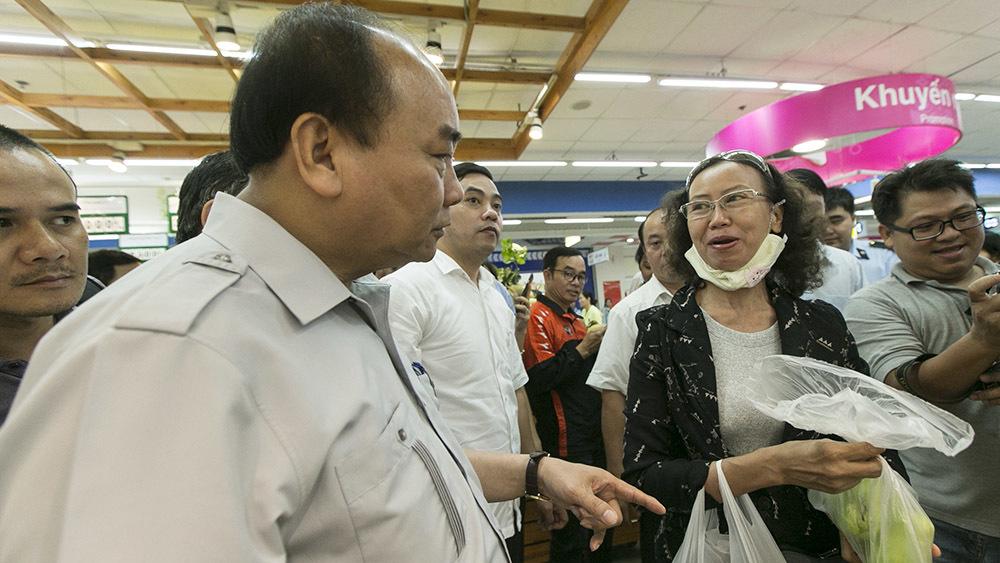 Thủ tướng Nguyễn Xuân Phúc, Thủ tướng vi hành, vi hành, an toàn thực phẩm