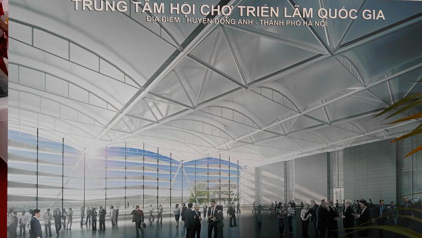 Trung tâm triển lãm quốc gia, Hà nội, Trung tâm triển lãm giảng võ, đầu tư
