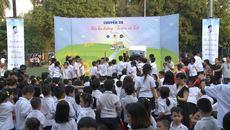 Học sinh Hà Nội hân hoan chào đón chuyến xe Sữa học đường