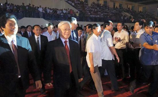Tổng bí thư, Nguyễn Phú Trọng, Đông Anh