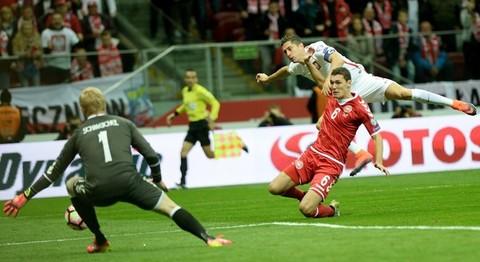 clip bàn thắng Ba Lan 3-2 Đan Mạch