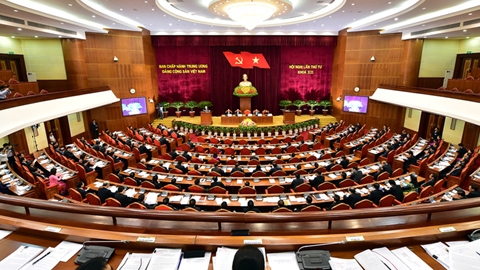 event Trung ương 4, Tổng bí thư Nguyễn Phú Trọng, chỉnh đốn đảng, suy thoái, tự chuyển hóa