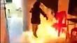 """Nữ sinh lớp 8 châm lửa đốt trường vì lời thách """"câu 1.000 like"""""""