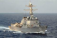 Tàu khu trục Mỹ bị tên lửa tấn công