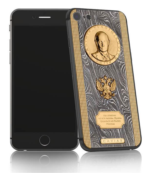 Chiếc iPhone 7 siêu 'độc' của Putin