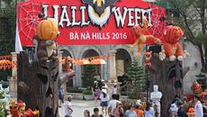 Tưng bừng lễ hội Halloween 2016 ở Bà Nà Hills