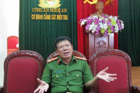PV Thượng tá Hoàng Trọng Đống