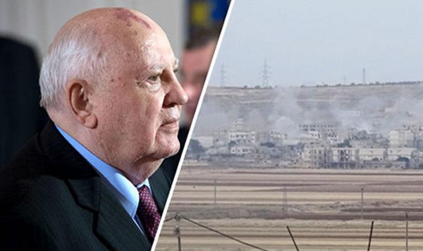 Gorbachev kêu gọi Nga và Mỹ quay trở lại các ưu tiên chính. (Ảnh: Express)