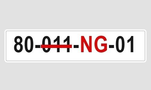 Cách đọc ký hiệu biển số xe ngoại giao, nước ngoài ở Việt Nam