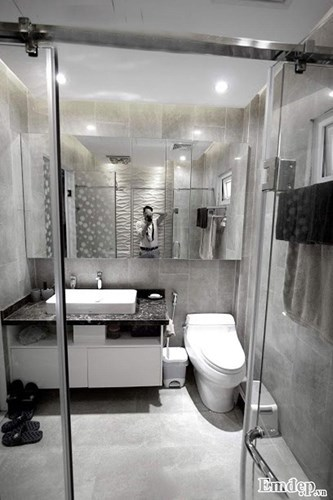 cải tạo nhà, sửa chữa nhà, nhà phố Kim Mã, cải tạo phòng khách hiện đại, cá tính