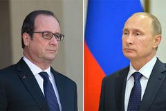 Putin đột ngột hủy thăm Pháp
