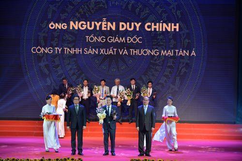 CEO Tân Á Đại Thành lọt top Doanh nhân tiêu biểu 2016