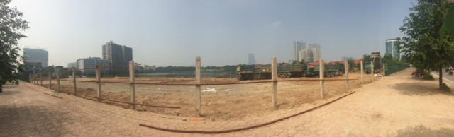 Tập đoàn Nam Cường, khu đô thị mới Phùng Khoang, công viên hồ điều hoa, dự án treo, trồng cỏ