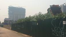 Khu đô thị quây tôn trồng cỏ gần thập kỷ trên đất vàng Hà Nội