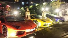Minh Nhựa 'show hàng' dàn siêu xe 130 tỷ tại Sài Gòn
