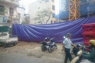 Hà Nội: Sập giàn giáo, 2 người chết
