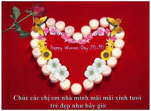 Thiệp chúc mừng bằng hình ảnh ngày 20-10 chị em rất thích 20161013100743-a12